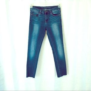 ARTICLES of SOCIETY Skinny Ankle Jeans Fray Hem 27